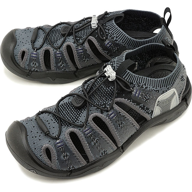 【先着でオリジナルグッズプレゼント!】キーン KEEN メンズ エヴォフィット ワン MEN EVOFIT 1 サンダル 靴 Heathered Black/Magnet [1021390 SS19]