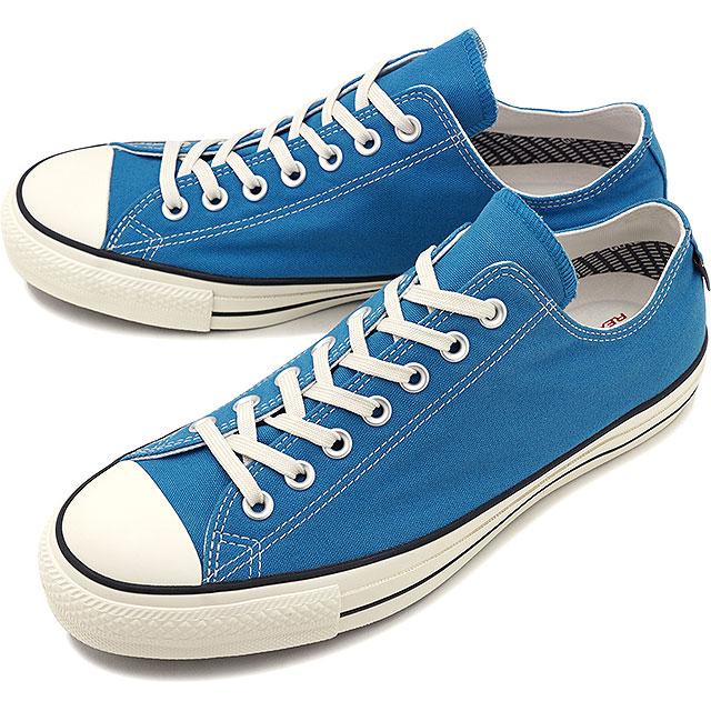 【即納】コンバース CONVERSE オールスター 100 ゴアテックス ローカット ALL STAR 100 GORE-TEX OX メンズ スニーカー 靴 ブルー [32169366 SS19]
