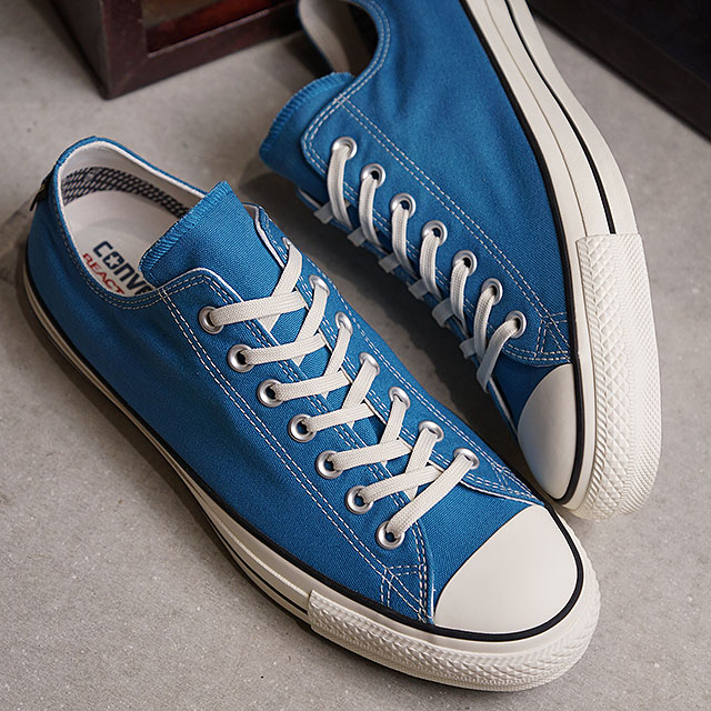 Converse CONVERSE all stars 100 Gore Tex low frequency cut ALL STAR 100 GORE TEX OX men sneakers shoes blue [32169366 SS19]