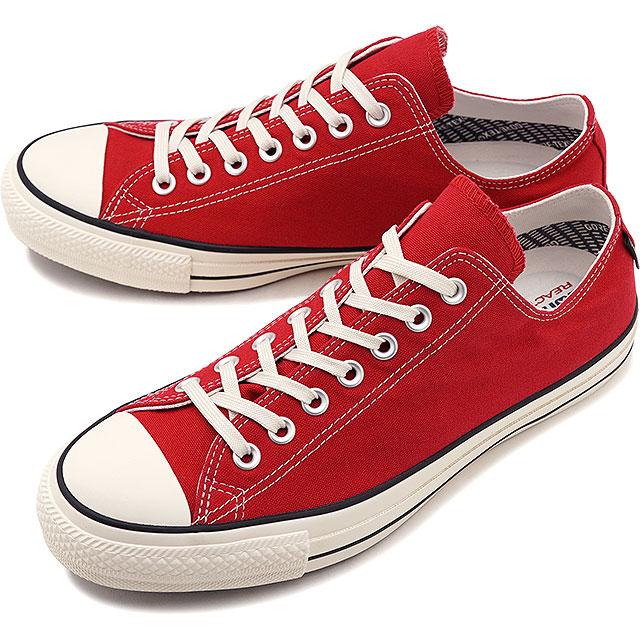 【即納】コンバース CONVERSE オールスター 100 ゴアテックス ローカット ALL STAR 100 GORE-TEX OX メンズ スニーカー 靴 レッド [32169362 SS19]