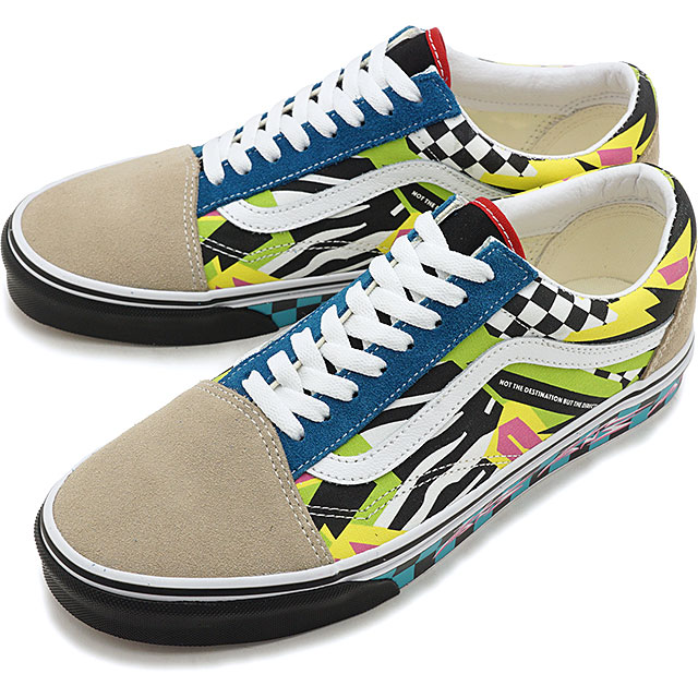 b5db374b52 Vans VANS station wagons mash up old school VANS MASH UP OLD SKOOL men  station wagons sneakers shoes MULTI TRUE WHITE  VN0A38G1VRO SS19