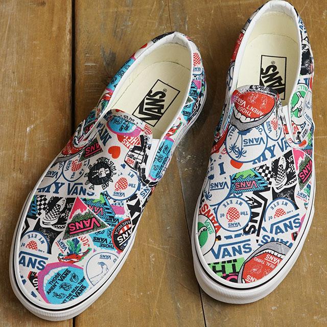 buy \u003e vans mash up sticker slip on, Up