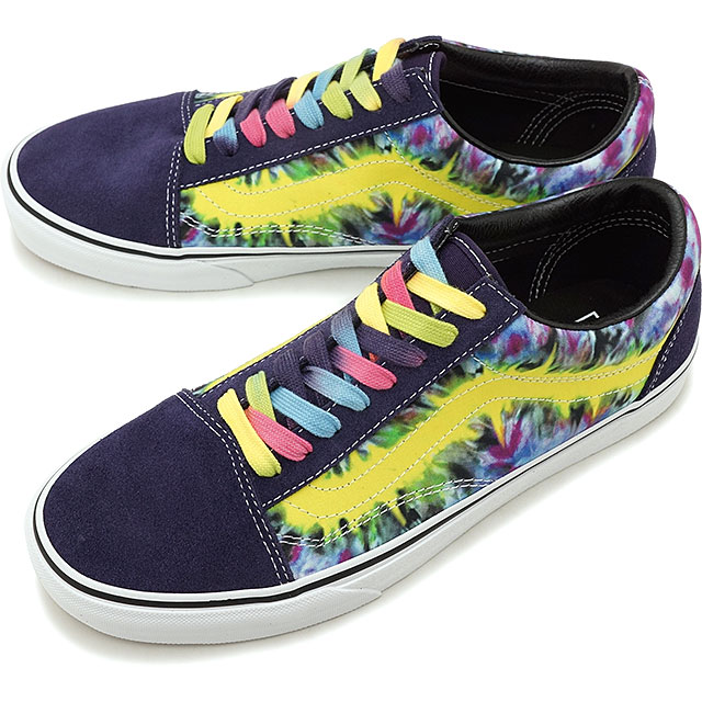 8ae5eb61aa Vans VANS tie-dyeing old school TIE DYE OLD SKOOL men station wagons  sneakers shoes MYSTERIOSO TRUE WHITE  VN0A38G1VMO SS19