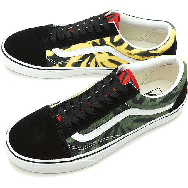 Vans VANS tie dyeing old school TIE DYE OLD SKOOL men station wagons sneakers shoes MULTIBLACK [VN0A38G1VRN SS19]
