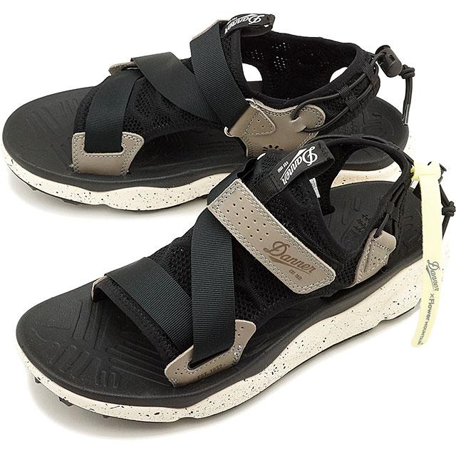 【コラボモデル】ダナー Danner フラワーマウンテン Mマザマ Flower MOUNTAIN M.MAZAMA メンズ レディース スニーカー 靴 BLACK [D822000 SS19]