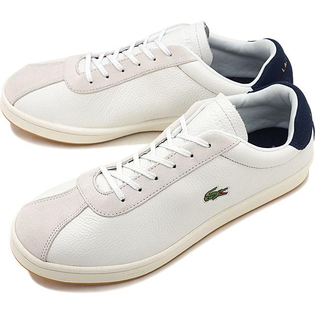 【即納】ラコステ LACOSTE メンズ マスターズ MNS MASTERS 119 3 SMA スニーカー 靴 OFF WHT / NVY ホワイト系 [SMA0035-WN1 SS19]