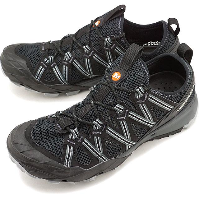 【即納】メレル MERRELL メンズ チョップロック MNS CHOPROCK ウォーターシューズ メガグリップ スニーカー 靴 BLACK ブラック系 [48675 SS19]