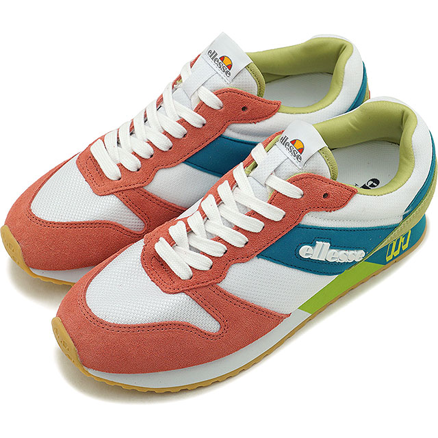 Lady's sneakers shoes PG ビンク green multicolored [EFH9124 SS19] men's in エレッセ ellesse heritage LS117 '19 in Heritage LS117 '19