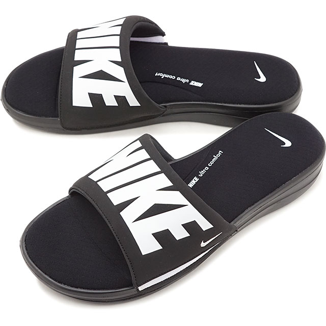 pretty cheap search for best select for newest Nike NIKE ultra comfort 3 slide ULTRA COMFORT 3 SLIDE men gap Dis slide  sandals shower sandal black / white black system [AR4494-003 SU19]