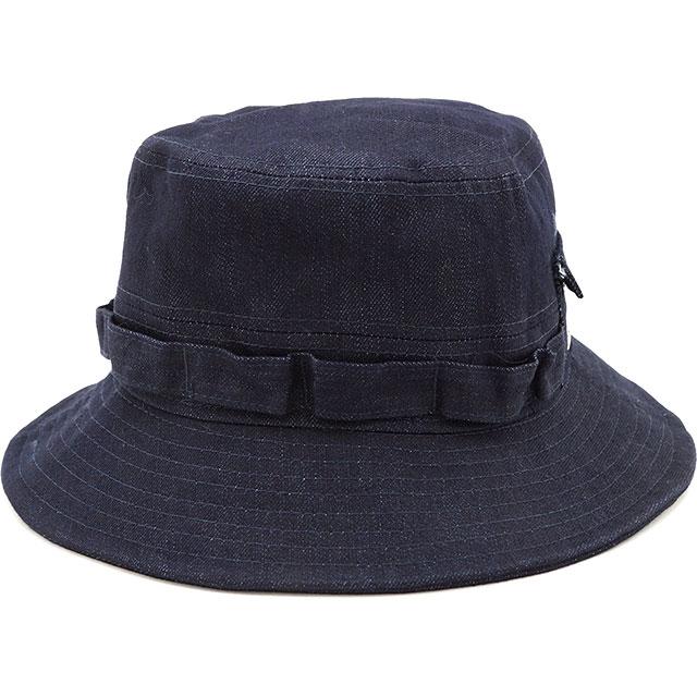 【即納】ニューエラ アウトドア NEWERA OUTDOOR ADVENTURE SHELTECH DENIM シェルテック アドベンチャーハット メンズ レディース UVカット 帽子ネイビー系 [11897300 SS19]