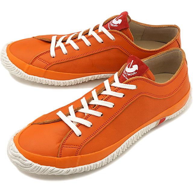 【返品送料無料】スピングルムーブ SPINGLE MOVE 日本製 ソフトレザー SPM-106 メンズ レディース スピングル ムーヴ スニーカー 靴 Orange オレンジ系 [SPM106-25 SU19]