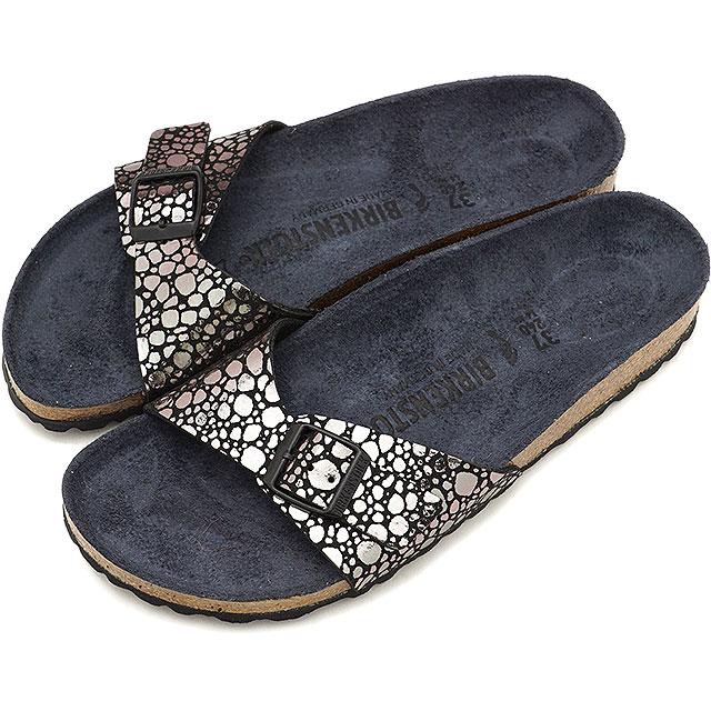 timeless design a290a 7ab10 ビルケンシュトック BIRKENSTOCK Madrid Madrid men gap Dis sandal Metallic Stones  Black [GC1008803 GC1008804 SS19][s]