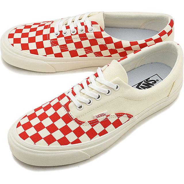 d91f7eae1d Vans VANS ポディウムエラクラフト PODIUM ERA CRFT men station wagons sneakers shoes  CHECKERBOARD RACING RED  VN0A3WLRVPO SS19