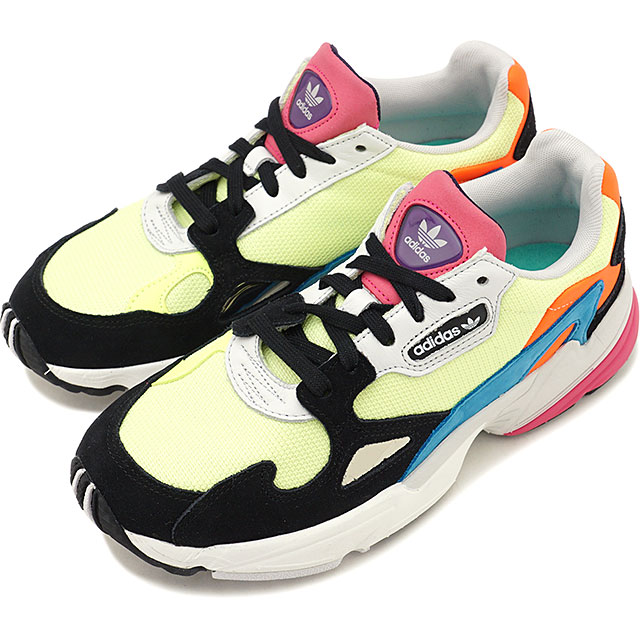 cheap for discount 94fe9 e5c8b Adidas originals adidas Originals Lady s Adidas falcon women ADIDASFALCON W  sneakers shoes H yellow S19 H yellow S19 multicolored  CDR16 CG6210 SS19Q2