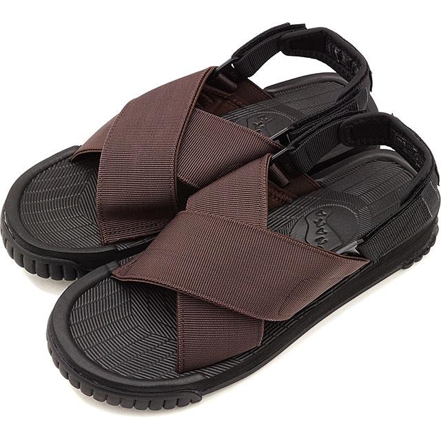 【20%OFF/SALE】SHAKA シャカ サンダル レディース フィエスタ FIESTA クロスストラップ アウトドア 靴 DK BROWN ブラウン系 [SK433107 SS19]【ts】【e】