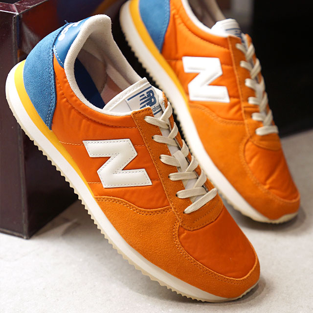 new balance gris et orange