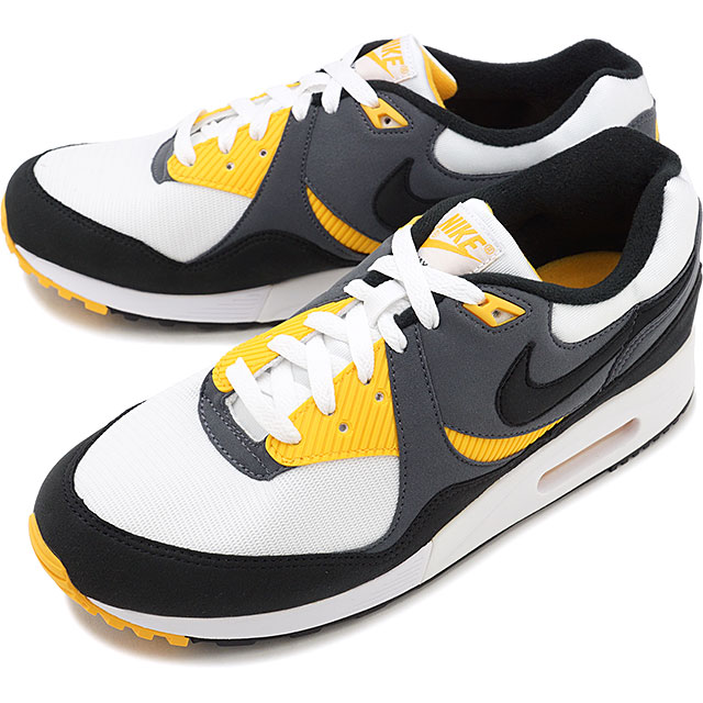 Nike NIKE Air Max light AIR MAX LITE men Lady's sneakers shoes white black dark gray multicolored [AO8285 102 SU19]