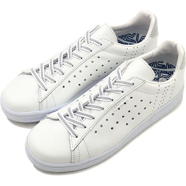 【返品送料無料】【シーズン限定】パトリック PATRICK 日本製 レフ・ケベック REF-QUEBEC メンズ レディース スニーカー 靴 WHT ホワイト系 [531350 SS19Q2]