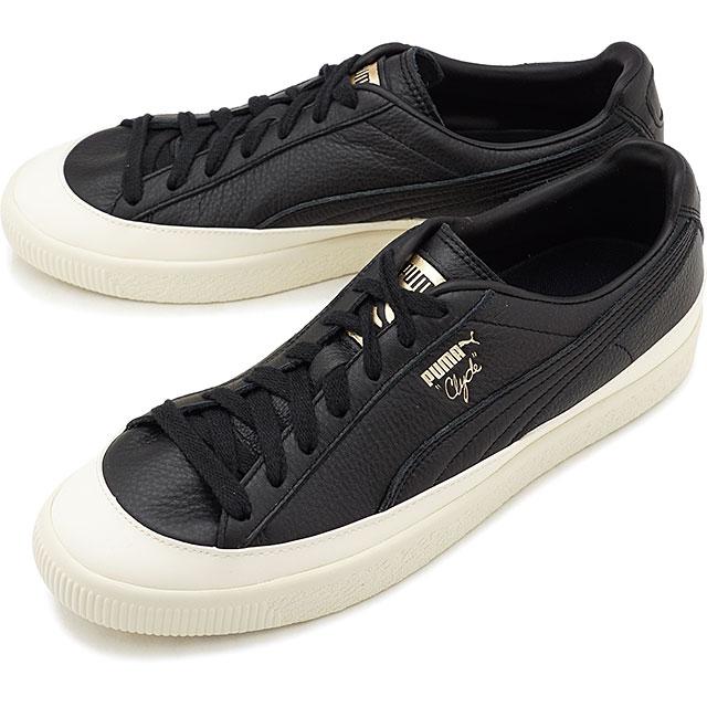 uk availability 7ac3a 409fa Puma PUMA Clyde rubber toe leather CLYDE RUBBER TOE LEATHER men gap Dis  sneakers shoes black system [366,986-02] [s][e]