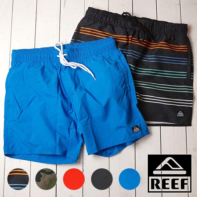 Surf underwear shorts half underwear [RF0A3SSI SS19] with the leaf REEF men  Eymet rear valley EMEA VOLLEY swimsuit sea Bakery bathing suit inner