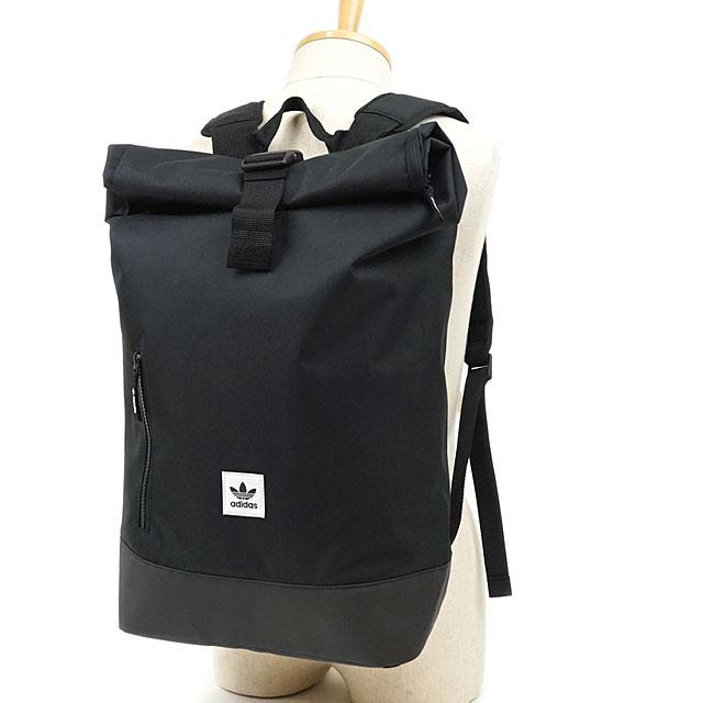 950737cfcf Adidas originals adidas Originals PE roll top backpack PE ROLLTOP BACKPACK  men gap Dis rucksack day pack commuting attending school bag bag black ...