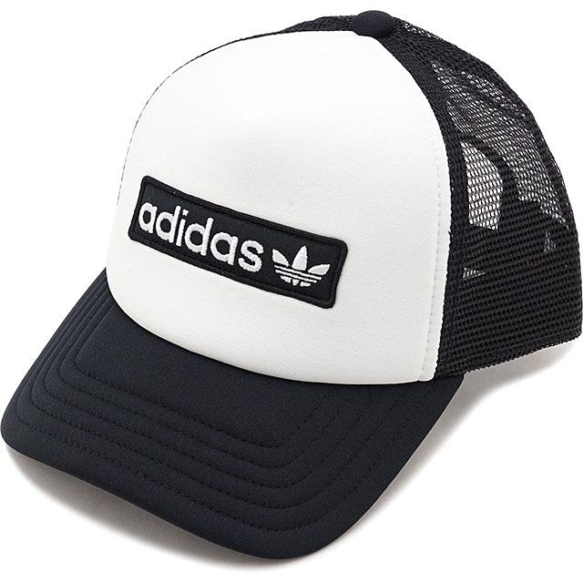e02d63c7e Adidas originals adidas Originals form trucker FOAM TRUCKER men gap Dis  mesh cap hat white system [GDO35/ED8056 FW19]