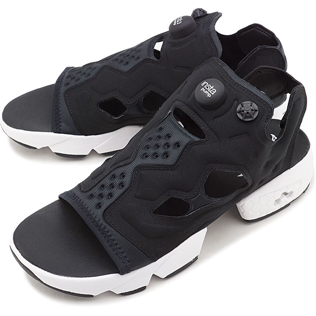 リーボック クラシック Reebok CLASSIC インスタ ポンプフューリー サンダル INSTAPUMP FURY SANDAL メンズ・レディース スニーカー 靴 ブラック/ホワイト/シルバーメタリック ブラック系 [DV9699 FW19]