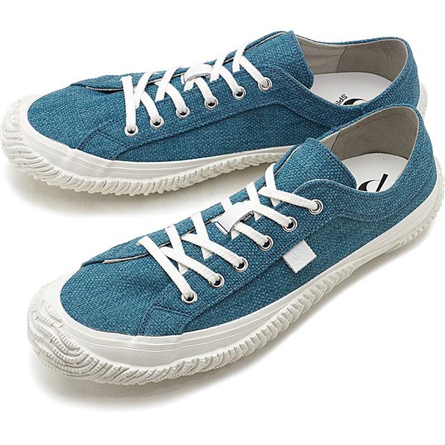 【返品送料無料】スピングルムーブ SPINGLE MOVE 日本製 Knoll テキスタイル SPM-156 メンズ レディース スピングル ムーヴ スニーカー 靴 Blue ブルー系 [SPM156-38 SU19]