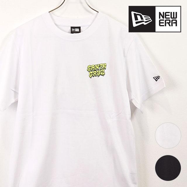 New gills NEWERA men Santa Cruz T shirt SS TEE SANTACRUZ back print T short sleeves [12110825 12110826 FW19]
