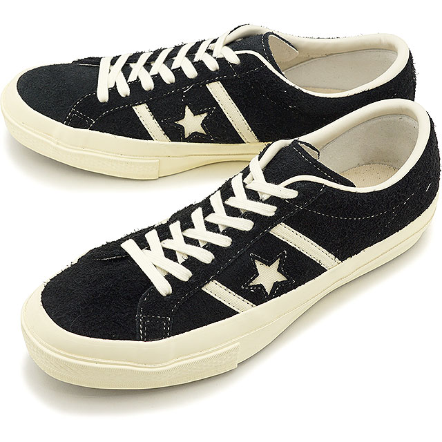 Converse CONVERSE sneakers star and Byrds suede STAR&BARS SUEDE men Lady's BLACK [35200110 SS20]