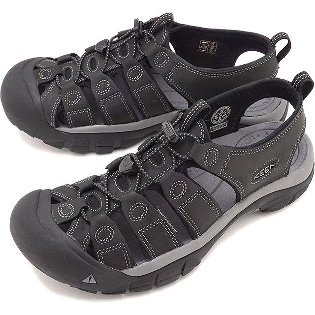 【5/1限定!カード&エントリー19倍】KEEN キーン サンダル ニューポート M NEWPORT [1022247 SS20] メンズ アウトドア ウォーターシューズ 靴 Black/Steel Grey ブラック系