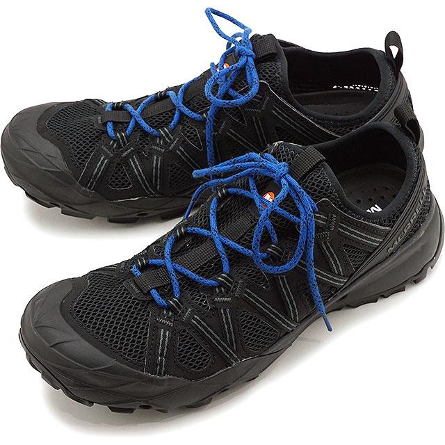 【5/1限定!カード&エントリー10倍】メレル MERRELL ウォーターシューズ チョップロック M CHOPROCK [033531 SS20] メンズ アウトドア スニーカー 靴 BLACK/COBALT ブラック系【e】