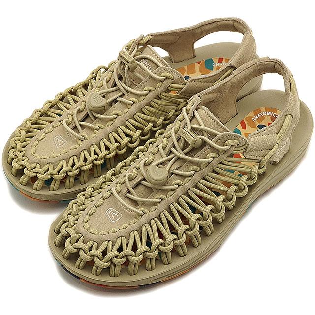 【限定】KEEN キーン サンダル ユニーク W UNEEK [1023057 SS20] レディース アウトドア スニーカー 靴 Safari/Multi ベージュ系【kp】