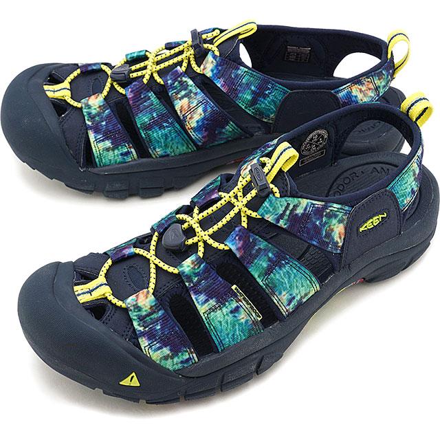 【5/1限定!カード&エントリー19倍】【限定】KEEN キーン サンダル ニューポート エイチツー M NEWPORT H2 [1022254 SS20] メンズ アウトドア ウォーターシューズ 靴 Ddye 8 ブルー系