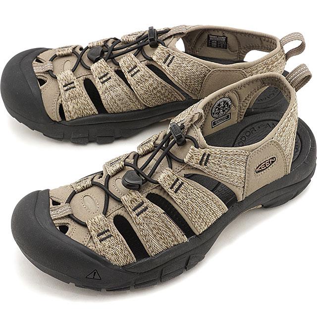 【5/1限定!カード&エントリー19倍】KEEN キーン サンダル ニューポート エイチツー M NEWPORT H2 [1022251 SS20] メンズ アウトドア ウォーターシューズ 靴 Taupe/Black カーキ系