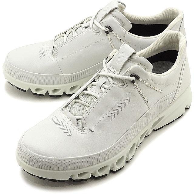【5/1限定!カード&エントリー19倍】エコー ECCO スニーカー マルチベント ゴアテックス MULTI-VENT M GORE-TEX [88012401007 SS20] メンズ パンチングレザー 靴 WHITE ホワイト系