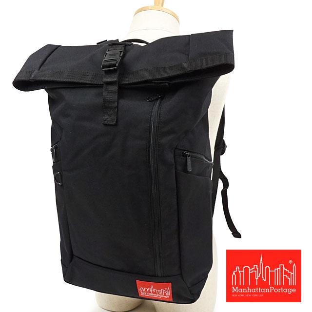 【スーパーSALE!カードで最大27倍】マンハッタンポーテージ Manhattan Portage ペース バックパック Pace Backpack [MP2213] メンズ・レディース リュック デイパック かばん 通学 通勤 バッグ Black ブラック系