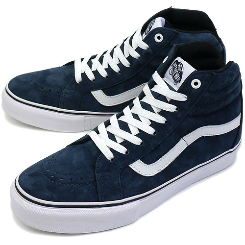f8981ba2dbfab5 □□VANS vans sneakers CORE SK8-HI NOTCHBACK PRO skating high notchback pro  HOSOI NAVY (VN-OK4X67 FW11)