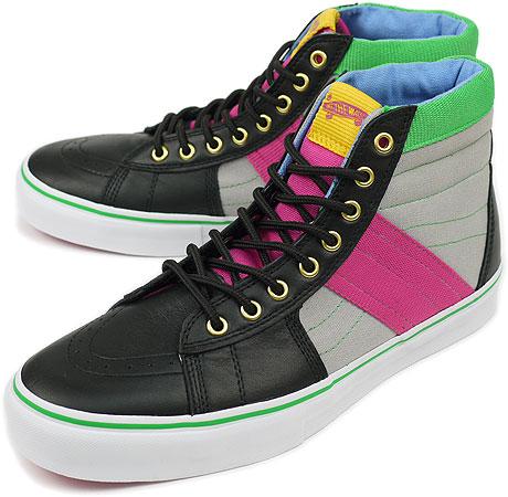 VANS vans sneakers VAULT SK8-HI STANDARD ISSUE LX skating high STANDARD  ISSUE LX BLACK (VN-0IO5BLK) d0732c2e1