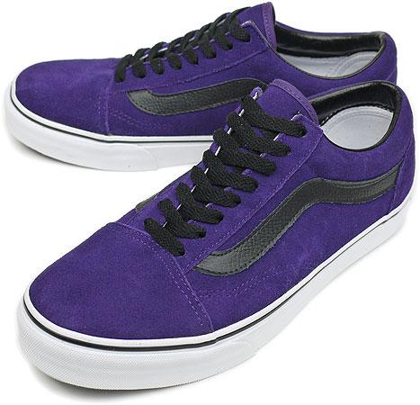 0654c6079563 VANS vans sneakers Old Skool CLASSICS old school gothic grape black ( SS10  VN-0D3H11F ) fs3gm