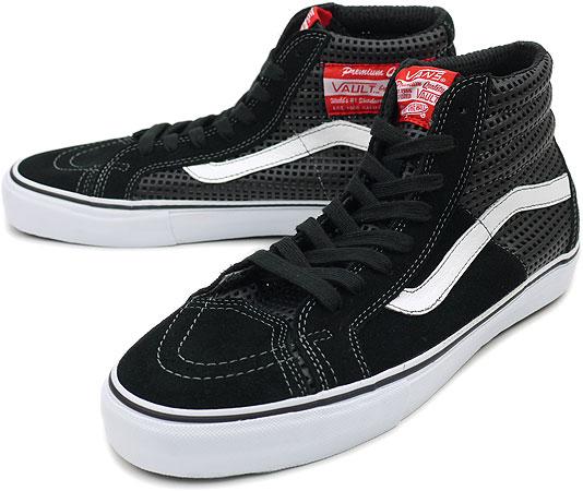 d2151018a618 VANS vans sneakers VAULT SK8-HI (SHAFFERS) Volt スケートハイ LX ( surfers ) (  VN-0KXI1GO FW10 ) PERFED BLACK fs3gm