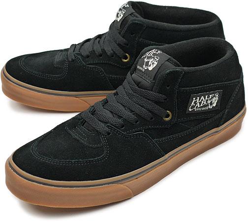 8f6b9ce6ee5 VANS vans sneakers CLASSICS HALF CAB (GUM SOLE) classical music half cab  (gum sole) BLACK CLASSIC GUM (VN-0KWYGE1 HO10)