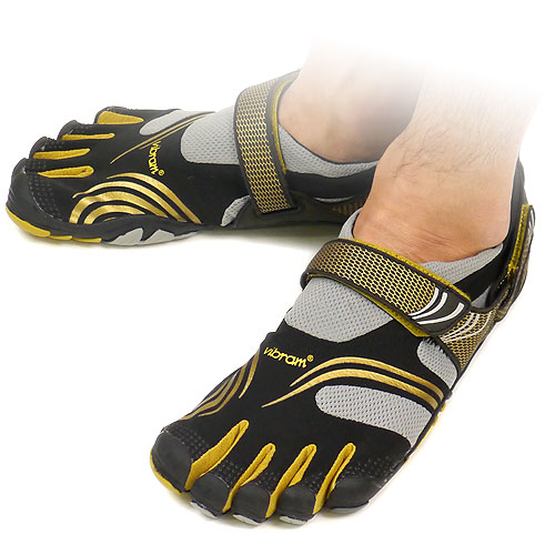 buy popular 43eb8 1bcfa Vibram FiveFingers Vibram five fingers mens KMD SPORT Black Gold Vibram  five fingers five finger ...