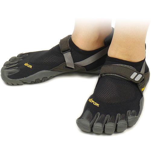Five Vibram FiveFingers Vibram five fingers men's & women's TREK SPORT Black/Charcoal Vibram fingers five finger shoes barefoot ( W4485 ) fs3gm
