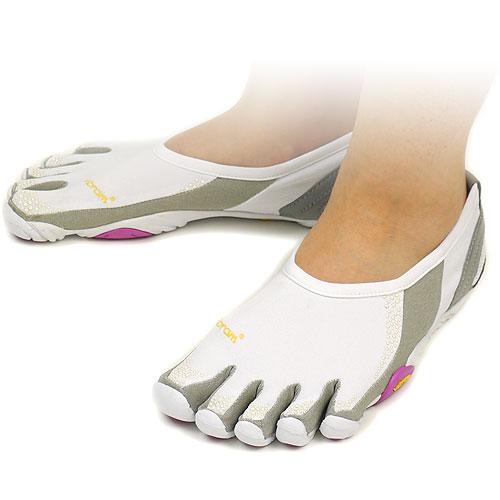 Five Vibram FiveFingers vibram five fingers men & Lady's JAYA White/Grey vibram five fingers finger shoes raise of wages feet (W164)