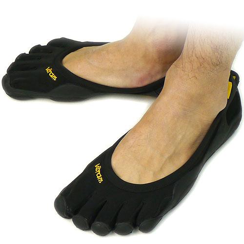 Vibram FiveFingers ビブラム ファイブフィンガーズ メンズ CLASSIC Black 5本指シューズ ベアフット靴 [M108]