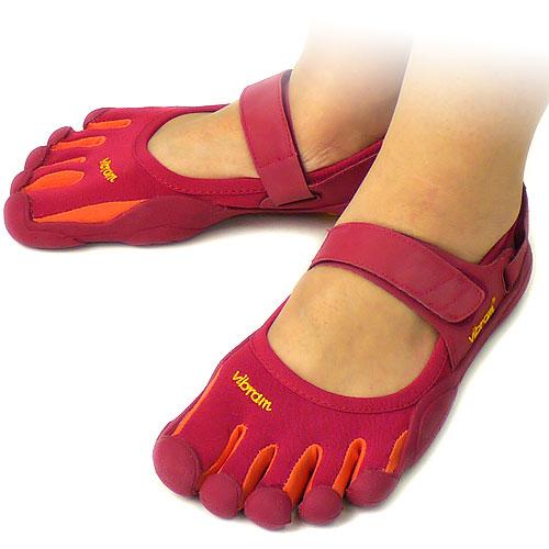 ■ 35 %OFF! surprise ■ Vibram FiveFingers Vibram five fingers men's & women's SPRINT Chili/Peach/Chili five fingers shoes barefoot ( W1132 )