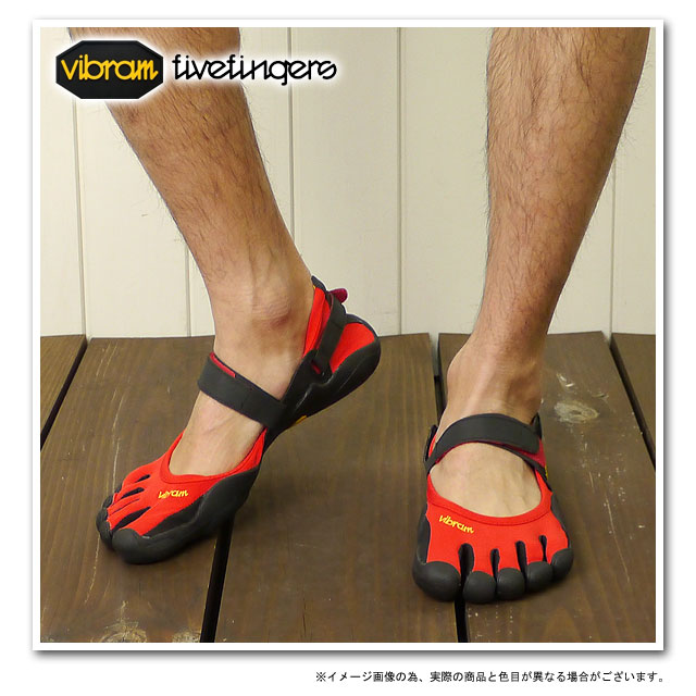 Time ■ sale! 35 %OFF! surprise ■ Vibram FiveFingers Vibram five fingers men SPRINT Red/Black/Black five fingers shoes barefoot ( M113 )
