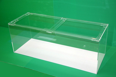 120×45×45 アクリル水槽 白底(6t)