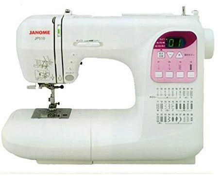 【送料代引手数料無料】ジャノメ コンピュータミシン JP510/JP-510 テーブル付 (JA)JP-510
